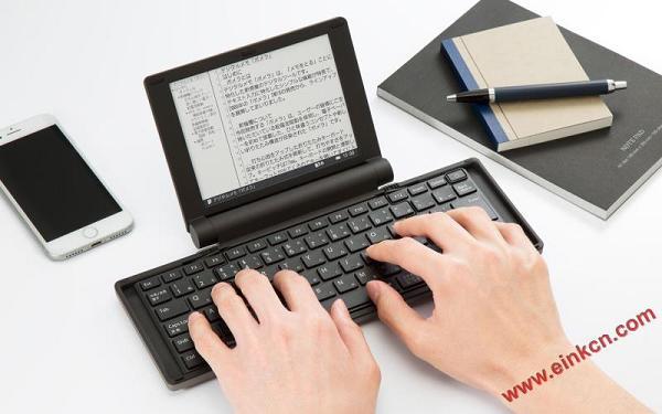 pomera DM30 数字打字机 使用6寸电子纸屏幕的打字机 图赏 墨水屏无纸办公 第4张