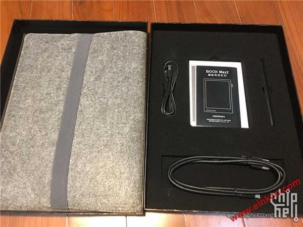 国产大屏Eink电纸书-文石Max2开箱 其他产品 第3张