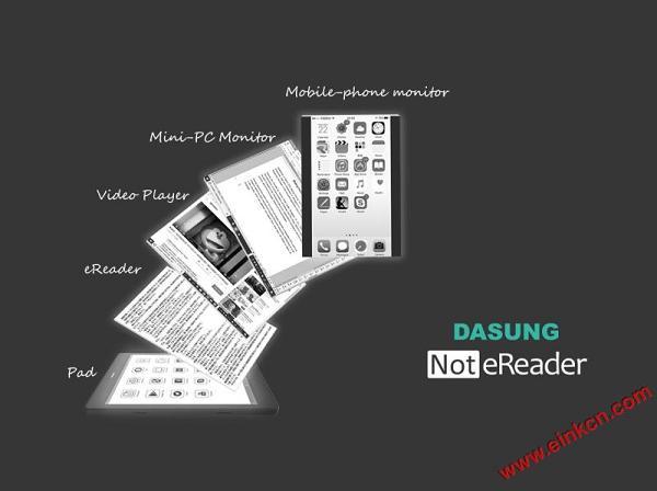 """大上科技的7.8寸E Ink电子纸平板 """"Not-eReader"""" 视频播放流畅 其他产品 第1张"""