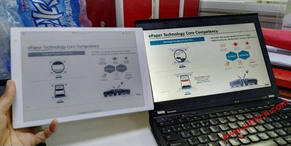 "Sony DPT-CP1白色10.3""电子纸平板照片"