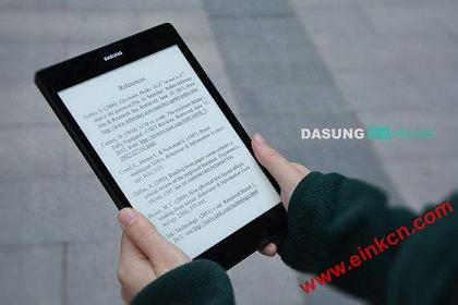 Dasung Not-eReader 大上Dasung Not-eReader E Ink Tablet and Monitor Available to Pre-Order开始预售 墨水屏广告看板