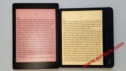 Kobo Forma vs Kobo Aura One Comparison Review