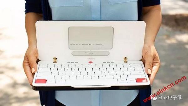 电子纸打字机Freewrite Traveler心无旁鹜书写工作并保存云端 其他产品 第1张