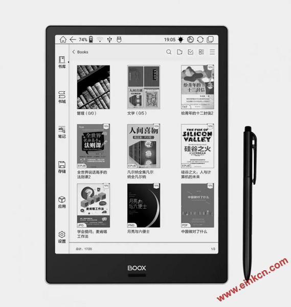 10.3英寸BOOX Note Pro阅读器正式发售,大屏手笔双触带前光 电子墨水笔记本 第12张