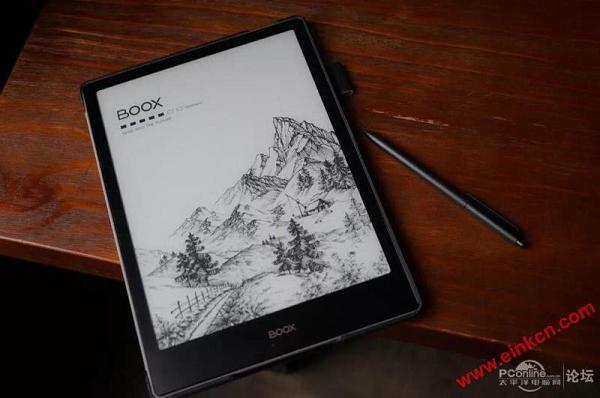 屏幕会发光的电纸书,文石BOOX Note Pro体验 电子墨水笔记本 第2张