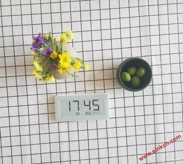 测评分享 || 知冷暖,懂干湿的米家温湿监测电子表-墨水屏产品 其他产品 第1张