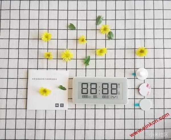 测评分享 || 知冷暖,懂干湿的米家温湿监测电子表-墨水屏产品 其他产品 第4张