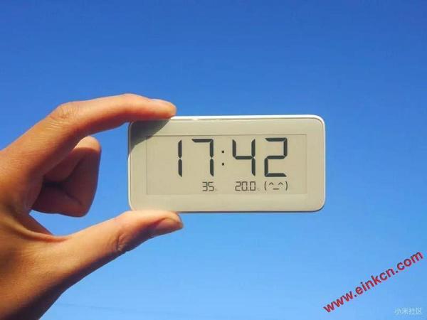 测评分享 || 知冷暖,懂干湿的米家温湿监测电子表-墨水屏产品 其他产品 第8张