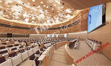 电子标签:联合国日内瓦办事处第19会议室使用E Ink电子墨水会议牌 墨水屏无纸办公 第3张