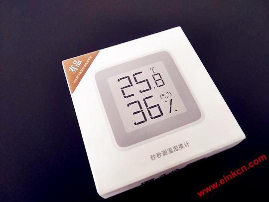 秒秒测E Ink电子墨水温湿度计——温度你知道。 其他产品 第2张
