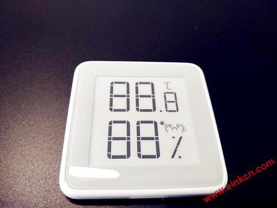 秒秒测E Ink电子墨水温湿度计——温度你知道。 其他产品 第7张