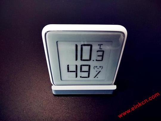 秒秒测E Ink电子墨水温湿度计——温度你知道。 其他产品 第11张