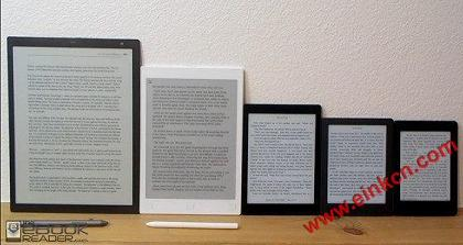 eReader-Screen-Size-Comparison Nice to Finally Have More Screen Size Options on eBook Readers 电子阅读