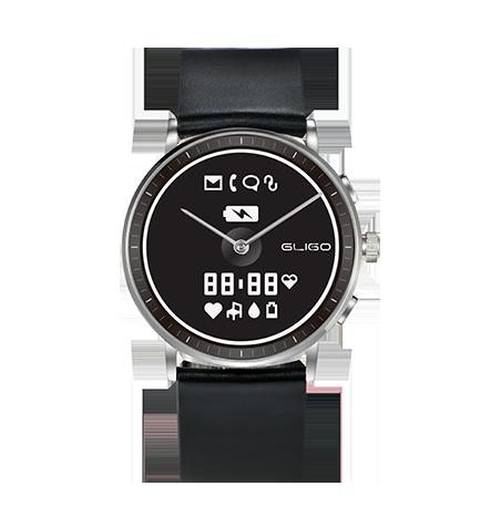 GliGo Watch One轻智能手表 智能手环 时尚节能计步心率手表