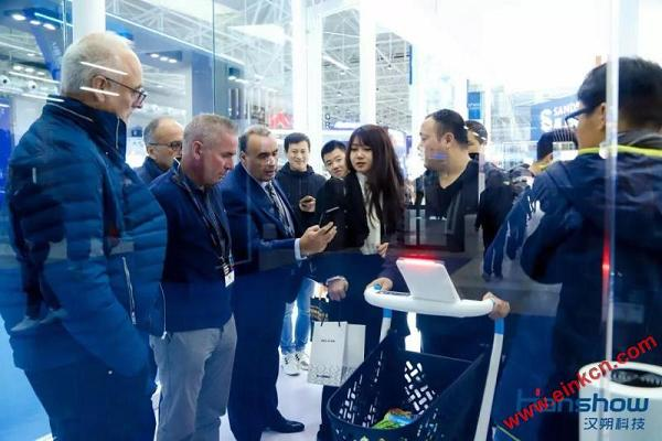 汉朔亮相CHINASHOP 2019第二十一届中国零售业博览会 智能标签 第24张