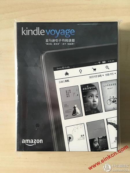 强迫症患者的选择,kindle voyage电子阅读器开箱