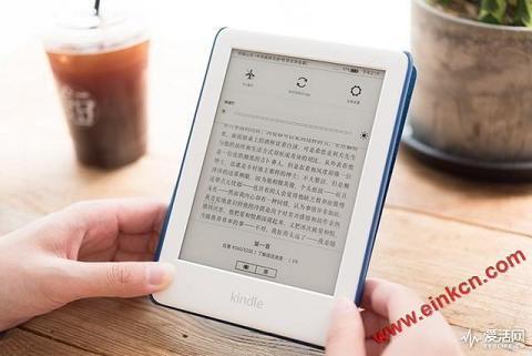 """Kindle青春版评测: 让你""""面上有光"""",眼不受伤 电子书阅读器 第8张"""