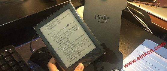 Kindle青春版2019年新款658开箱测评尝鲜-盖面更香! 电子书阅读器 第1张