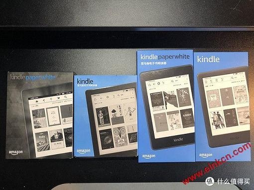 4款Kindle外观对比