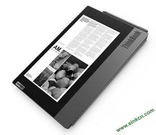 Lenovo联想ThinkBook Plus双屏笔记本:10.8英寸墨水屏、傲腾加速