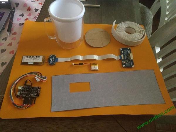 带显示器的水杯DIY图解