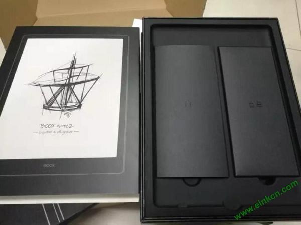 文石BOOX Note2评测 一位初入电纸书的小白对的使用感受 电子纸笔记本 第3张