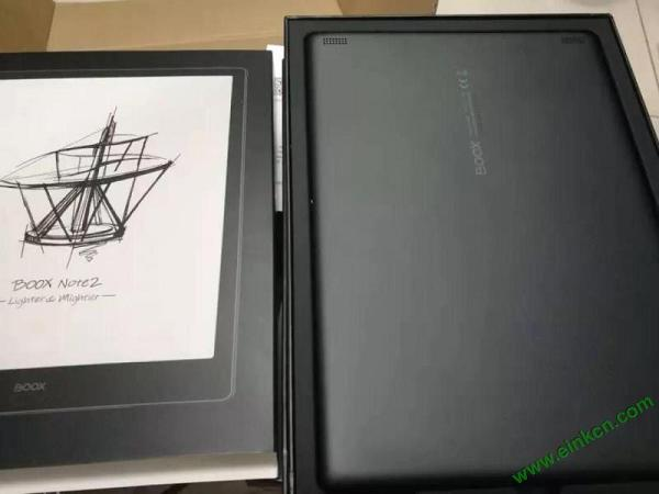 文石BOOX Note2评测 一位初入电纸书的小白对的使用感受 电子纸笔记本 第4张
