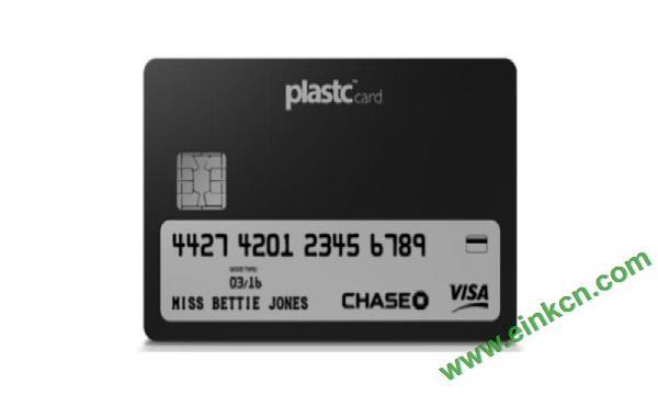 电子墨水屏会员卡/银行卡 Plastc:多合一支付卡的终极形态?