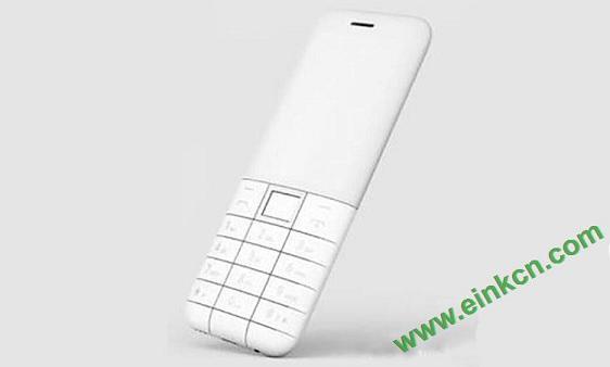 电子墨水屏幕的诺基亚Nokia极简手机来袭,外观实在是太萌了 电子墨水屏手机 第3张