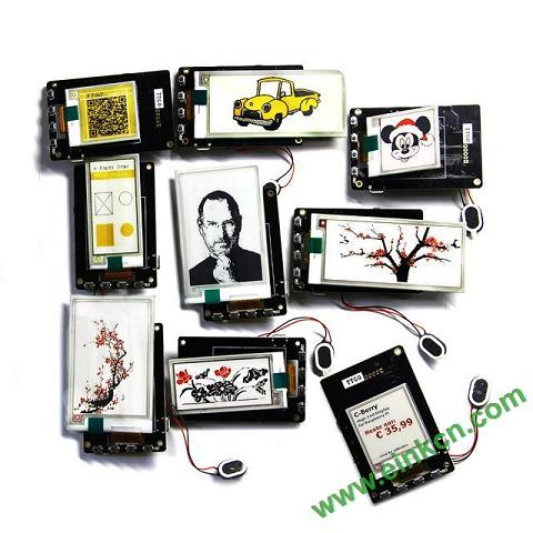 电子墨水屏的应用-无线/蓝牙/NFC/WIFI更改画面,不刷新基本不耗电