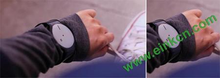 电子墨水屏手表亮相 2016 索尼魅力赏