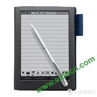 """夏普Sharp WG-PN1的电子墨水屏""""手账本"""":能写不能读,却比Kindle还贵 电子墨水笔记本 第3张"""