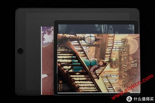 Oasis3与硬币、单行本漫画、iPad Pro 9.7的大小对比