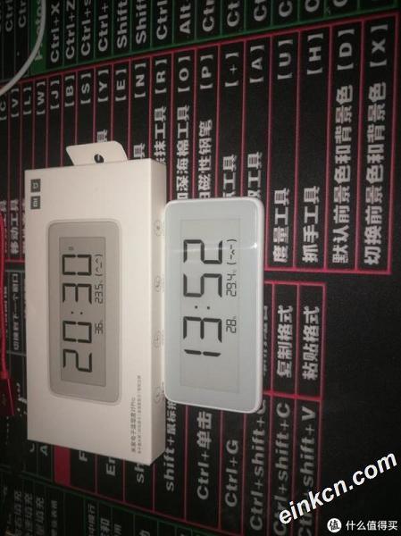 小米米家电子墨水屏温湿度计PRO测评
