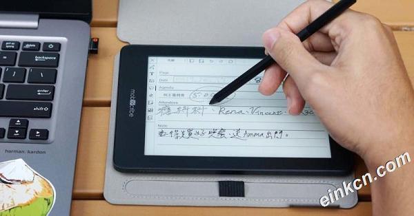 电子笔记本、电子书阅读器二合一推荐:MobiScribe 阅读效果与手写体验媲美实体纸本