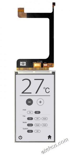 ED052TC4-5.17-5.2寸-1280x720-黑白-并口-玻璃-电子墨水屏