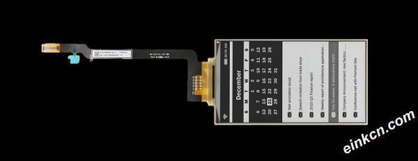 ED047TC2-4.7寸-960x540-黑白-并口-玻璃-电子墨水屏