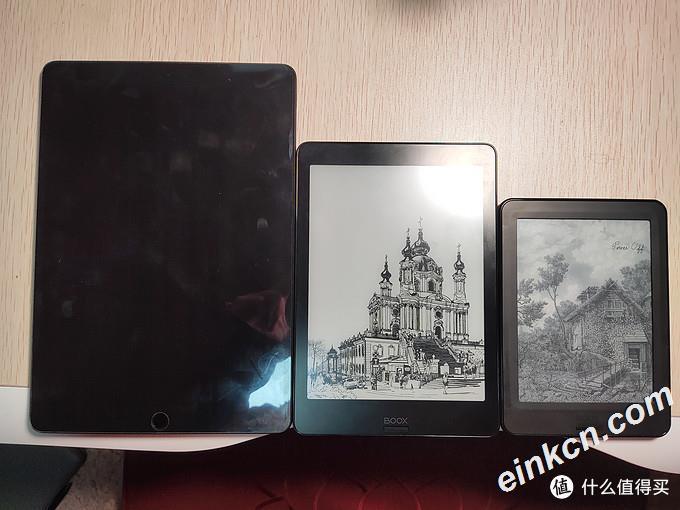 尺寸对比,iPad10.5',nova2 7.8',poke pro 6'