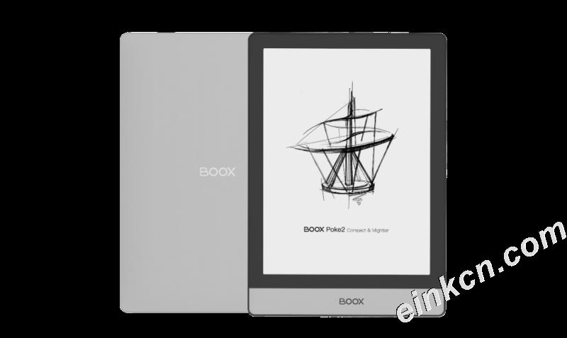 BOOX Poke2黑白电子墨水智能阅读器正式发布!