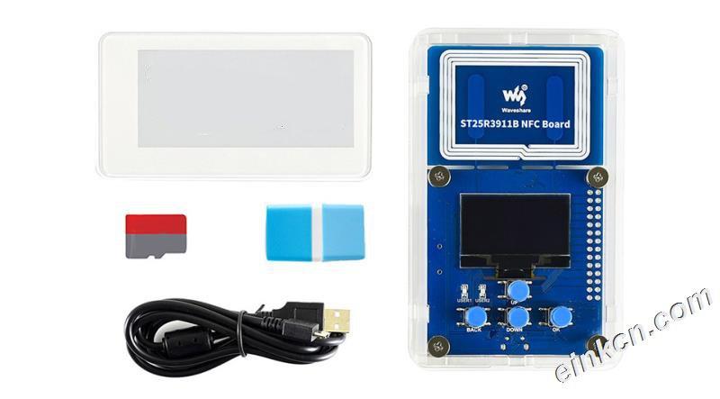 2.9寸无源NFC电子墨水屏评估套件 无须电池 无线供电&刷图