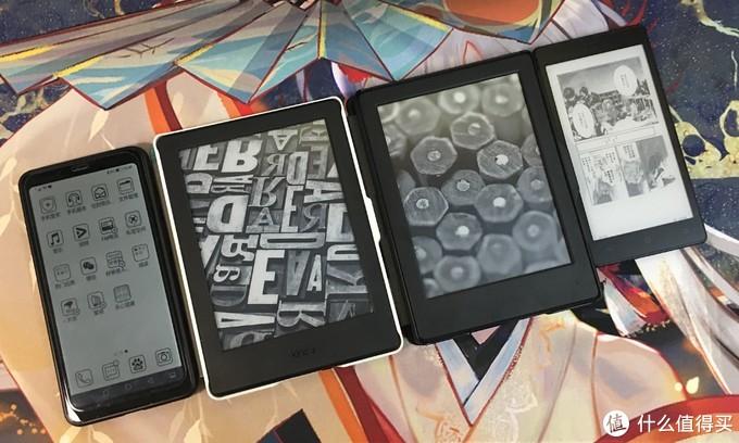 自己的电子书设备,其中有打卡的口袋阅和海信A5