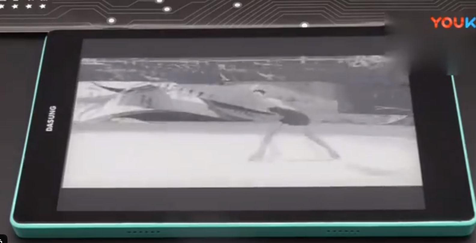大上科技DASUNG Not-eReader 电子墨水平板播放视频