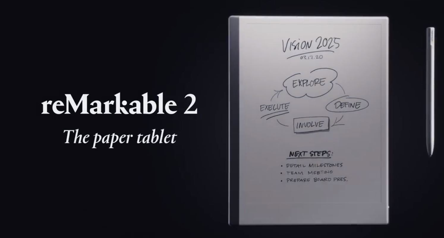 来自挪威的电子纸平板remarkable2视频 ,remarkable二代视频
