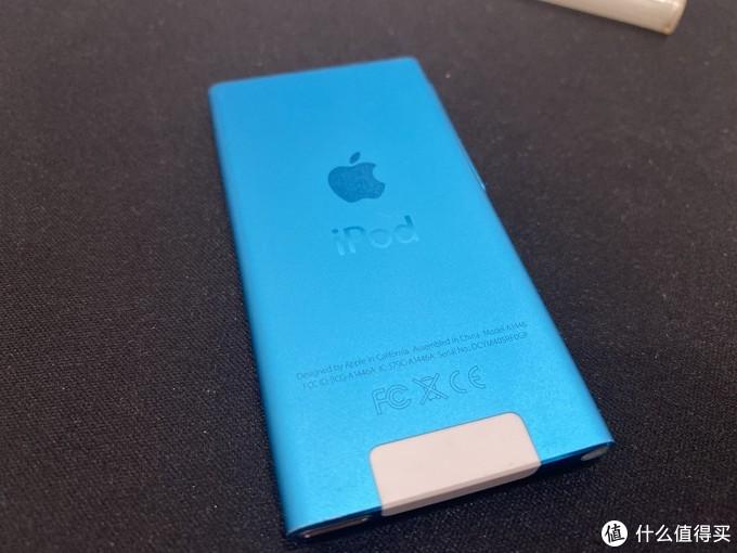 陪我很久了的蓝色iPod nano 7