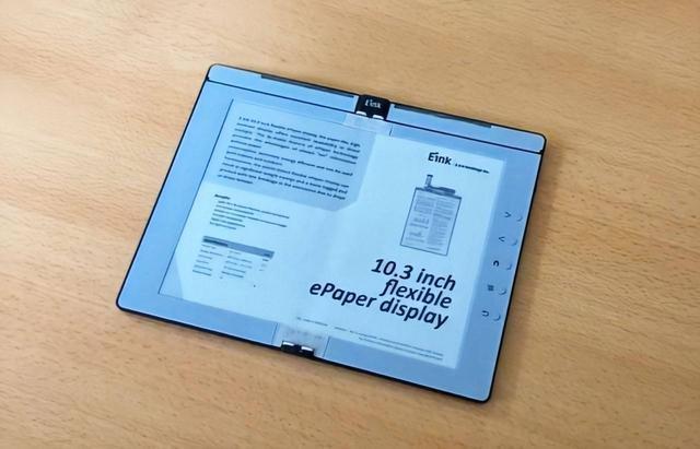 可折叠电子墨水屏曝光,未来Kindle或将采用可折叠设计