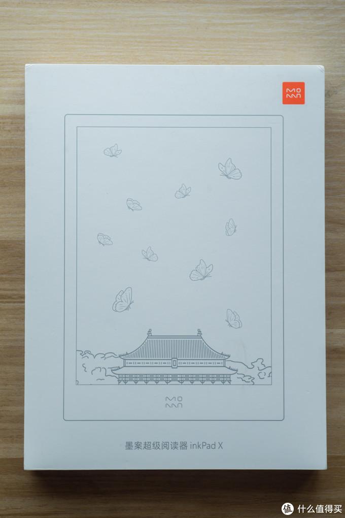 墨案inkPad X的盒子