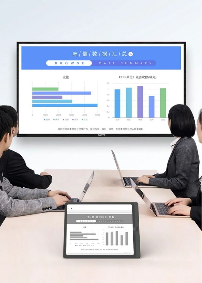 支持APP应用分屏的双色温墨水屏,文石BOOX Max Lumi 13.3英寸电子书发布