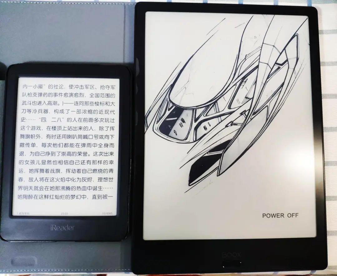 文石Note2阅读器圆我多样化阅读梦,还能改善我的生物钟!