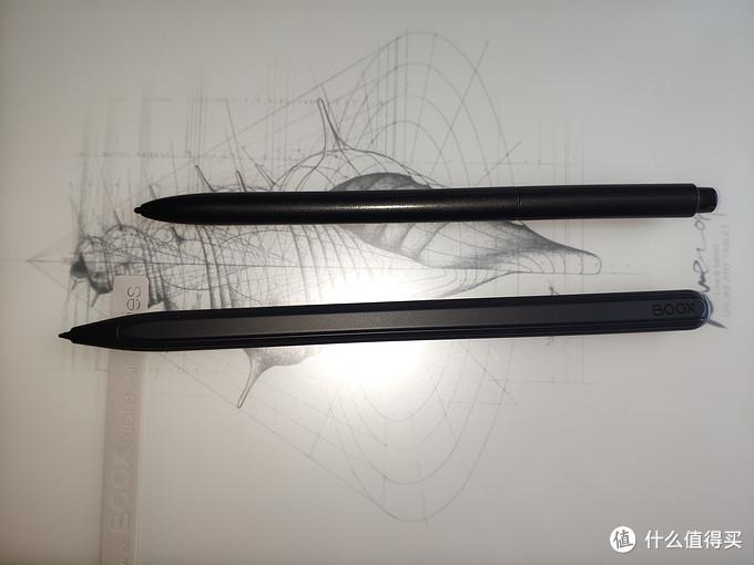 新旧手写笔对比