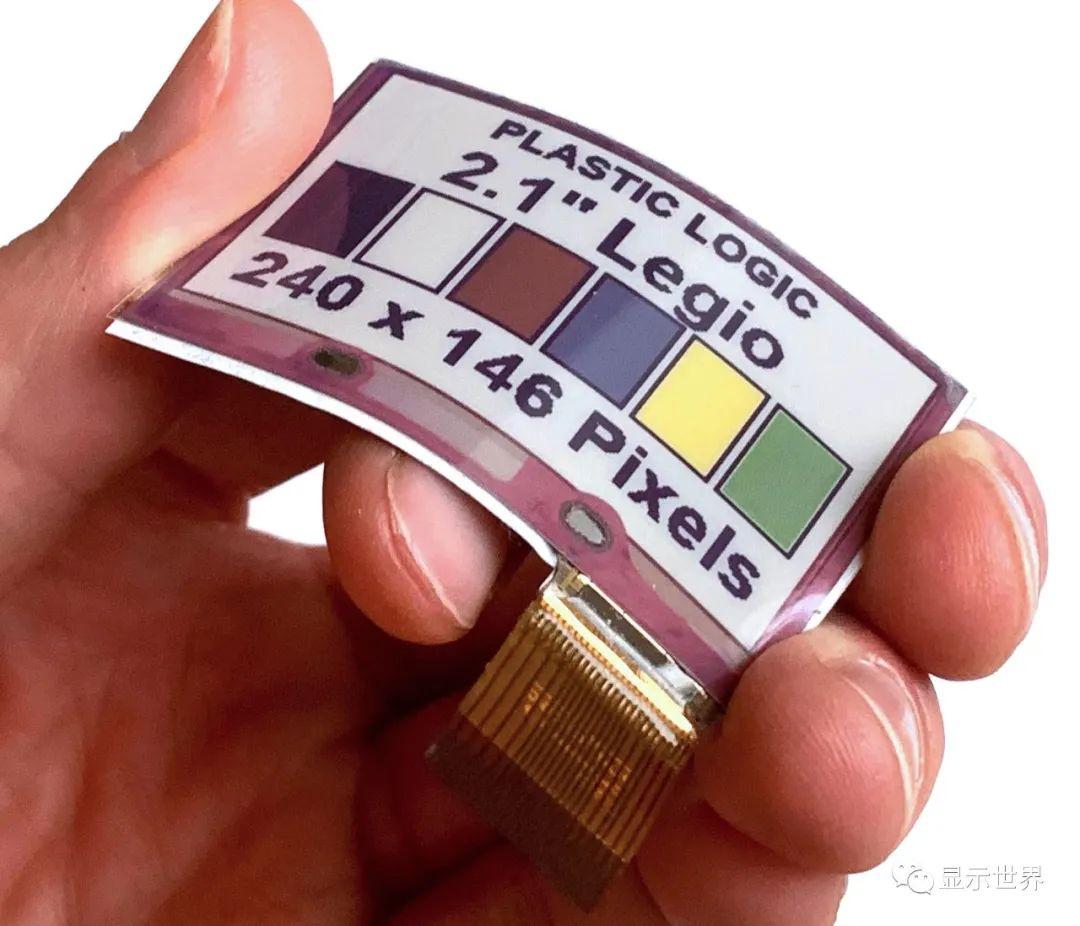 E Ink元太科技与Plastic Logic携手合作发表全球首款柔性全彩电子纸技术